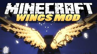 Minecraft z modami #118 - Wznies sie w kwadratowe chmury! - Wings mod