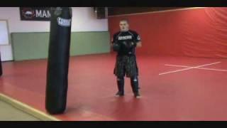 MMA Striking - Lead Inside Leg Kick