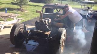 Ratrig Part 1:  2-Stroke Detroit Diesel 4-53N In-Frame Test Firing
