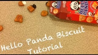 Hello Panda Biscuit Tutorial