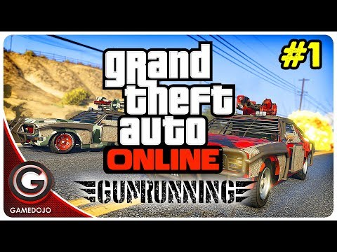 GTA 5 V Gunrunning NEW DLC Gameplay 🔴 Best Weapons & Cars for Gun Running | PC 60fps