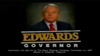 Edwin Edwards for Governor Political Ad 1987