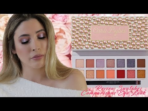 CARLI BYBEL ANASTASIA BEVERLY HILLS Eyeshadow Palette Review Swatches Comparisons Eye Look Tutorial thumbnail