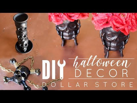DIY Dollar Store Halloween Decor