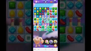 Candy Crush Friends Saga Level 385 - No Boosters