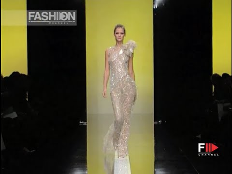 ELIE SAAB Full Show Spring Summer 2002 Haute Couture Paris by Fashion Channel