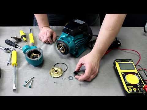 Разборка и ремонт поверхностного вихревого насоса