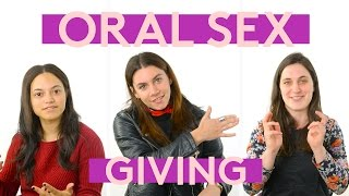 Women's Thoughts While Giving Oral Sex