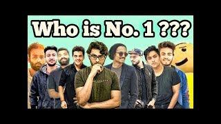 TOP 5 YOUTUBERS OF INDIA|| BB||AMIT||GURUJI.....