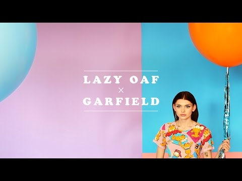 Lazy Oaf x Garfield