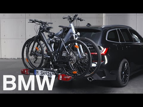 How to secure your bikes on the BMW Rear Bike Carrier Pro 2.0 – BMW How-To