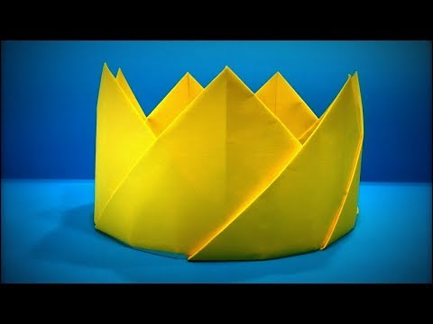 Origami Crown | How to Make a Paper King Crown DIY - Easy Origami ART