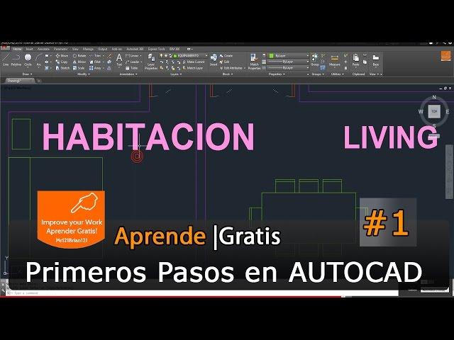 Curso Completo AutoCAD 2015 Tutorial Starter Basico 01 Iniciacion en HD Videos De Viajes