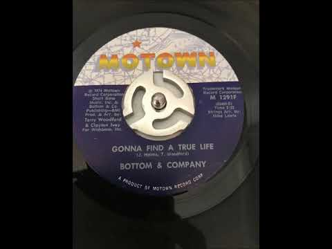 BOTTOM & COMPONY - Gonna Find A True Love~~Vinyl Only~~HD