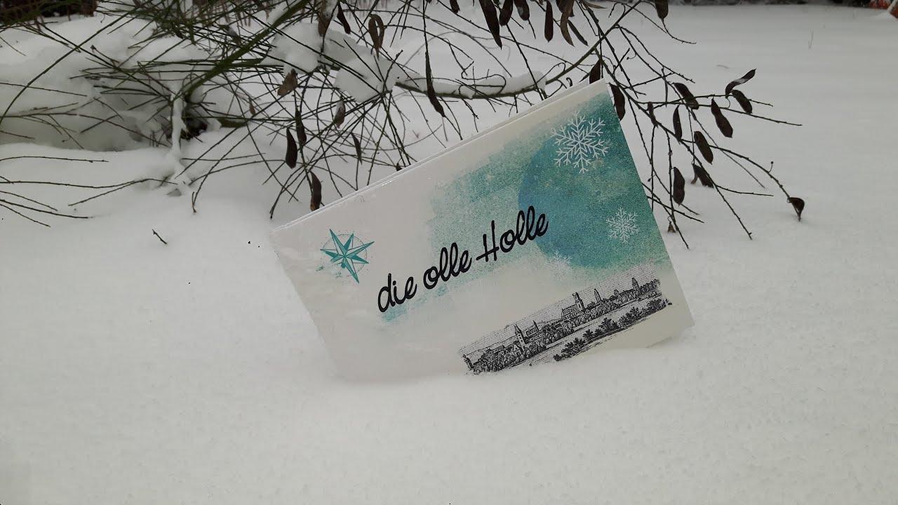 Lesung im Schnee: Die olle Holle