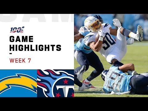 Chargers vs. Titans Week 7 Highlights   NFL 2019