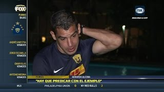Gerardo Alcoba, el nuevo capitán de Pumas