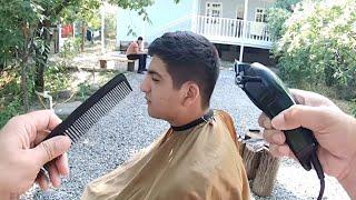 learn haircut! how to cut hair? fade ,hair cutting, HD Video