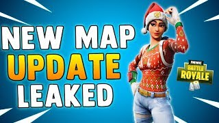 NEW MAP UPDATE IN FORTNITE 4.5 PATCH - Fortnite Battle Royale New Map Changes LEAKED