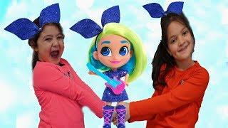 Masal and Öykü pretend play Hairdorables Surprise Dolls Blind Bags! Fun Kids Video