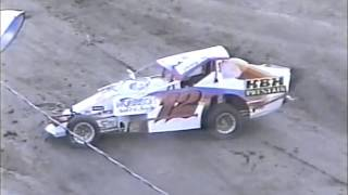 98-02 Dirt Track Crash Video Highlights (Fonda, Malta, Devil's Bowl, & More)