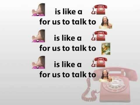Prayer Is Like A Telephone With Lyrics Youtube
