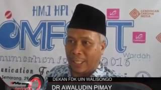 COMFEST ( Communication Festival ) KPI 2016 I News Tv Jawa Tengah - Hmj Kpi Uin Walisongo Semarang