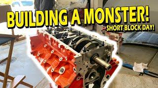 LS7 Short Block Assembly | Engine Build Ep: 3
