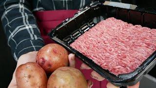 Проще простого фарш картошка и хорошее настроение