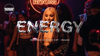 Doja Cat - Rules | ENERGY | Boiler Room London