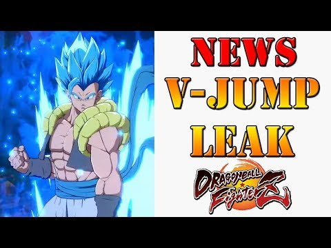 Dragon Ball FighterZ - V-Jump leak provides early insight into Gogeta!