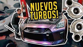 #GTR35 CAMBIO DE TURBOS!! - Bajamos el Motor de un #Nissan #GTR