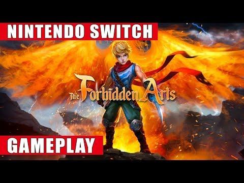 The Forbidden Arts Nintendo Switch Gameplay