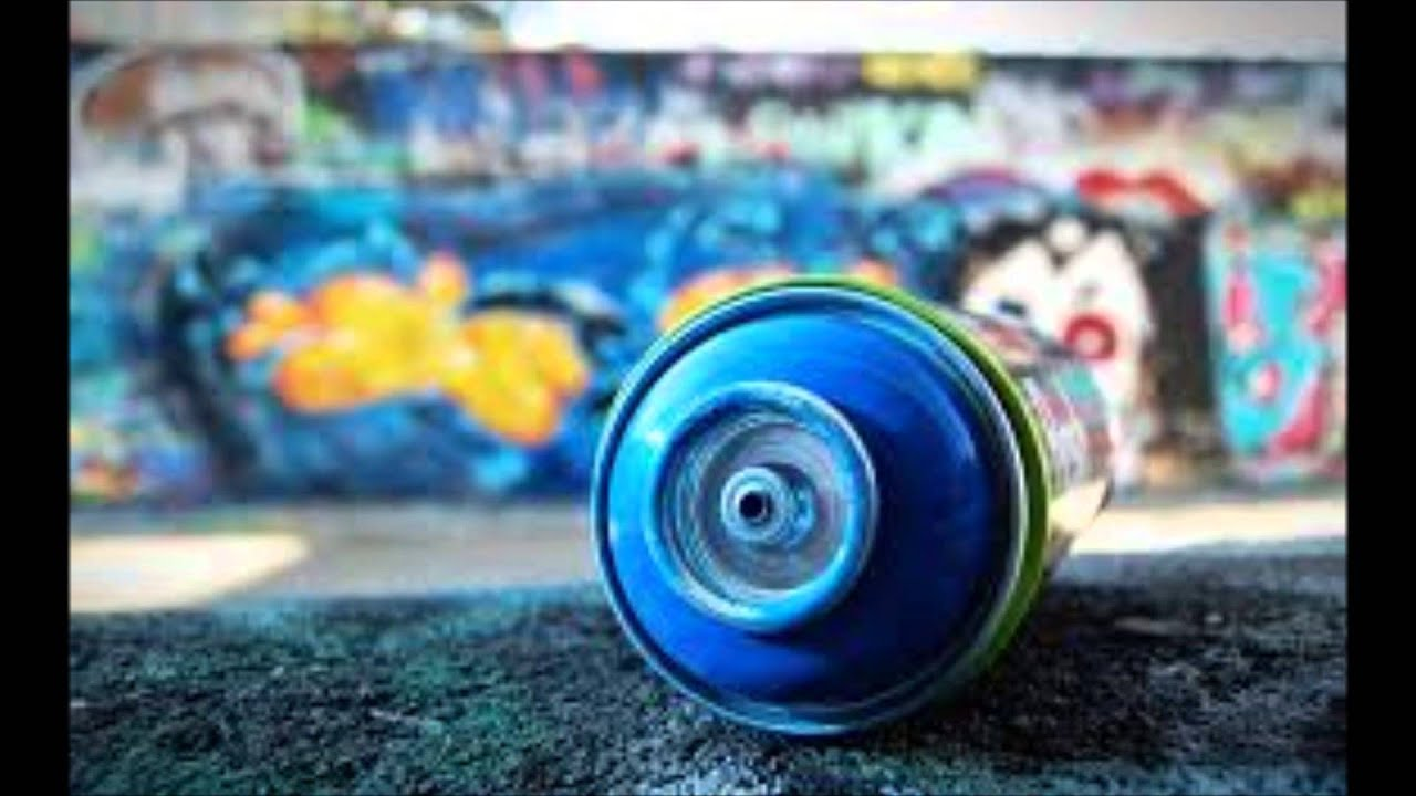 Spray Can Wallpaper