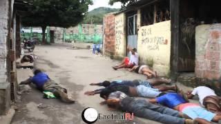 Policias da Delegacia de Homicídio fazem operação em Antares no dia 04/10/13