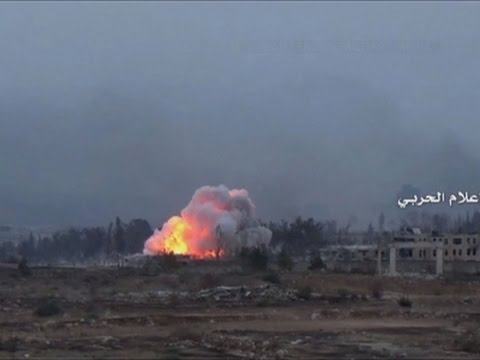 Raw: Syrian Military Launches Aleppo Offensive