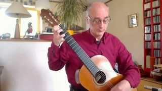 José Ferrer y Esteve   Souvenir du Quinze Août, romance sans paroles pour guitare opus 25