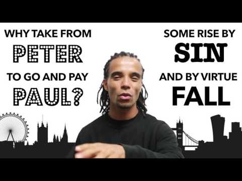 Shakespeare for Life | Akala – Comedy, Tragedy, History rap