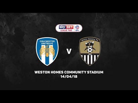 HIGHLIGHTS 17-18: Colchester United v Notts County
