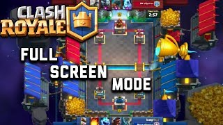 Thanks for watching Clash royale in full screen mode --------------...