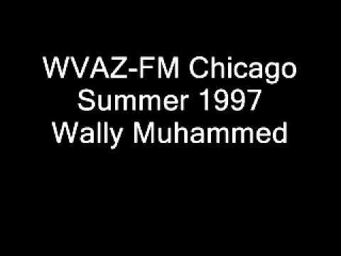 WVAZ-FM Chicago Summer 1997 Wally Muhammed.wmv