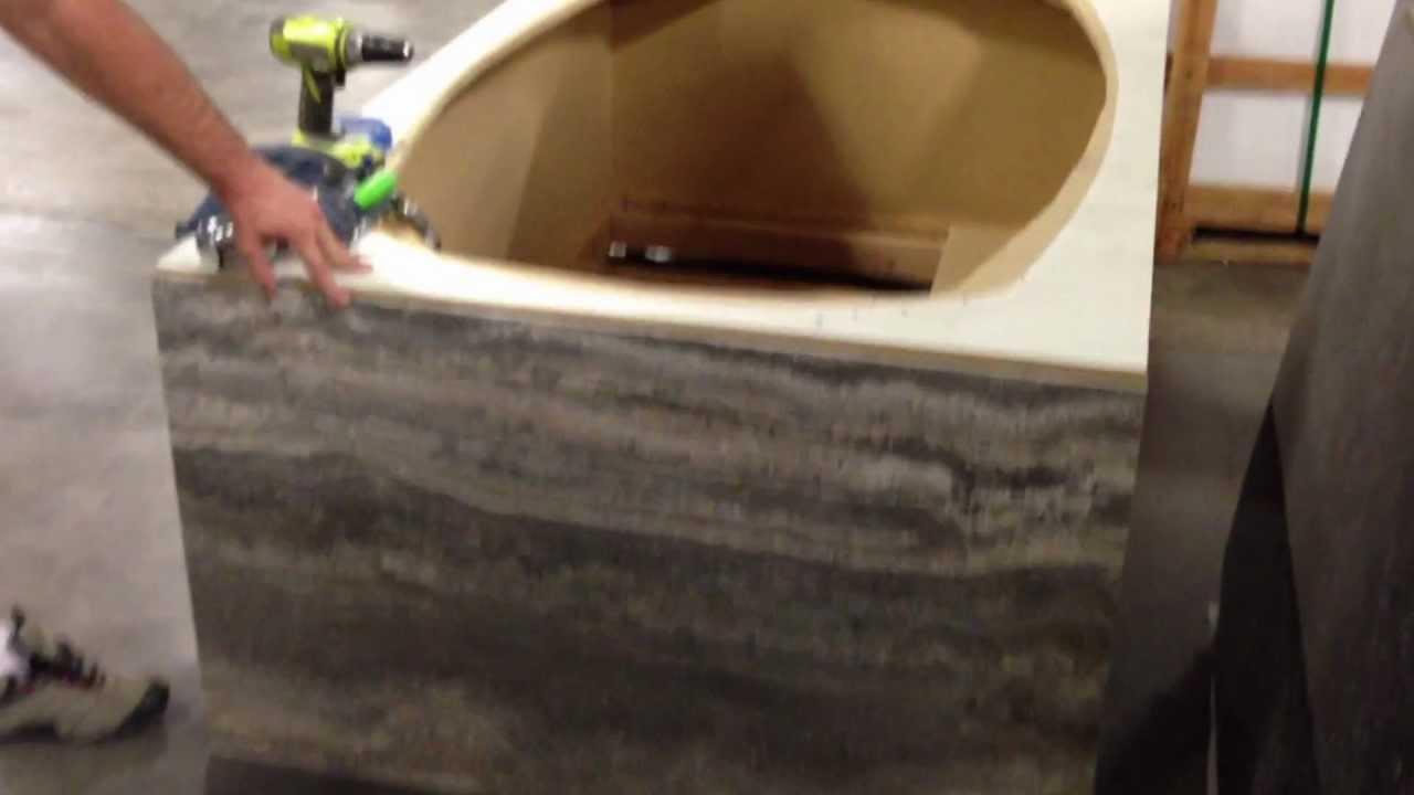 Forzastone Tub Deck Tub Skirt Youtube