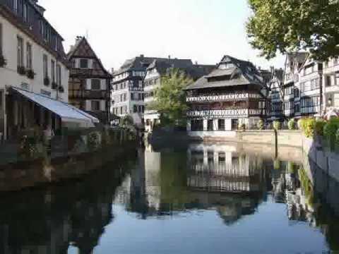 Promenade en Alsace    - La-petite-France -  Strasbourg