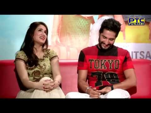 Jassi Gill & Sagarika Ghatge talking about their latest film 'Dildariyaan' | Interview | PTC Punjabi