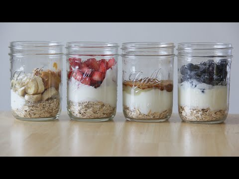 How to Make Overnight Oatmeal in a Snap!