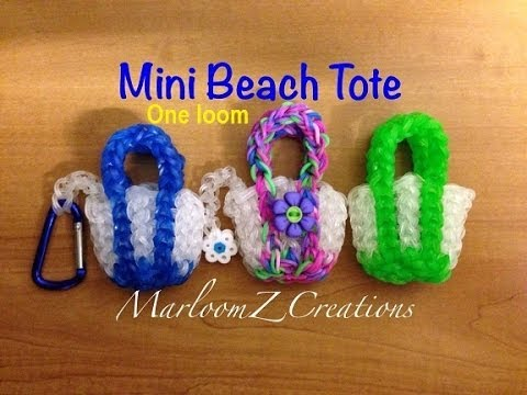 Rainbow Loom: Mini Beach Tote - SINGLE Loom