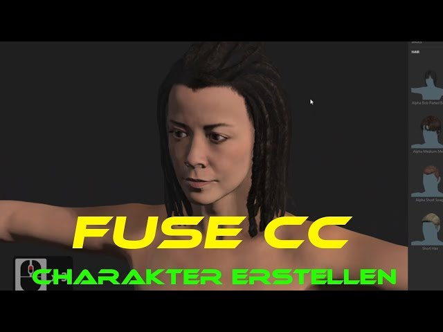3D Charakter erstellen einfach mit Adobe Fuse CC