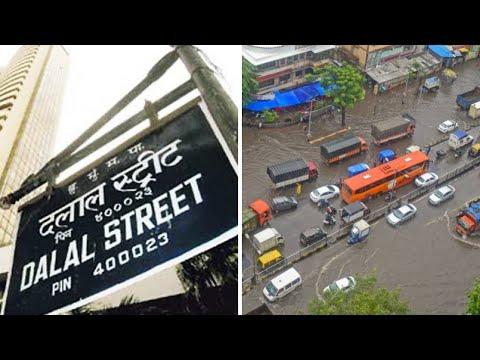 The Financial Capital's Market Turnout Dipped as Rains Bring Mumbai To Halt