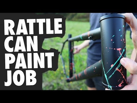How to Paint a Bicycle Frame with Spray Paint thumbnail