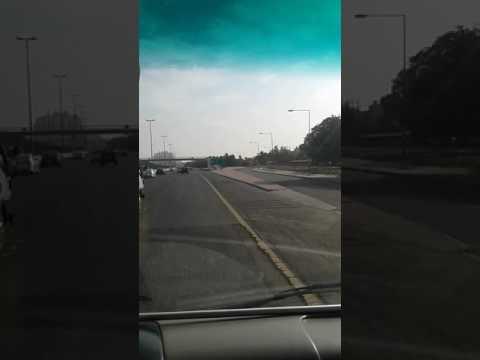 Kuwait city beautiful road